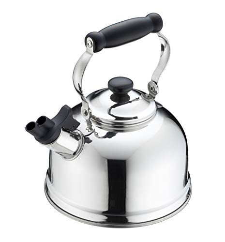 Whistling Kettle Stainless 2.5l Made in Japan Yj1943 by Yoshikawa