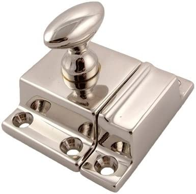 Nickel Cabinet Latch Antique All items free shipping Furniture Reproduction Inexpensive Turn Oval