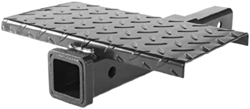 MaxxHaul 70069 Hitch Extender With Step, 4000-lb Max Towing Weight, 400-lb Tongue Weight.