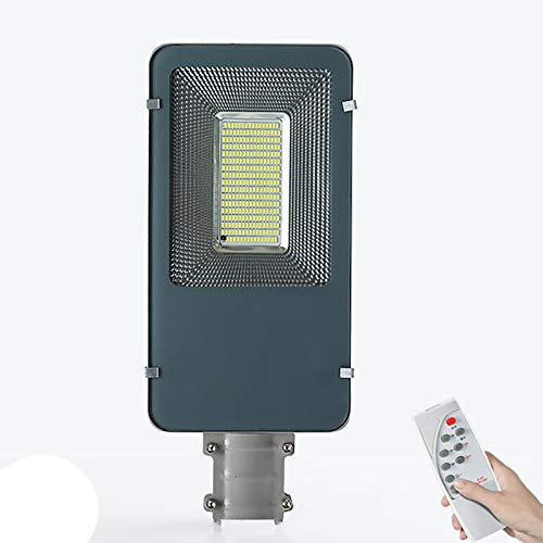 YGWL Solar Street Light,LED Outdoor Security Lights with Remote Control,IP66 Waterproof Road Lighting,Intelligent Light Control,for Street Courtyard,200W