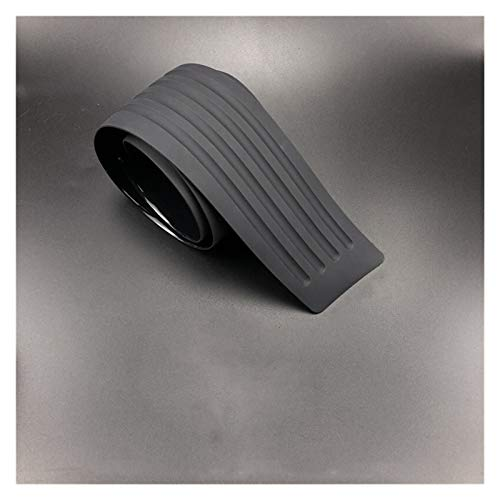 Vinilo Fibra Carbono Universal 104 * 90 * 9 cm 8 cm maletero del coche travesaño de la puerta trasera de la placa del protector del protector de parachoques de goma for molduras Molduras cubierta de G