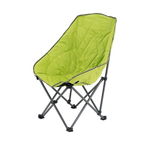 GFL Chaises Pliage Chaise Dossier Dossier Coton Canapé Lune Loisirs Chaise Paresseux Chaise Dortoir en Plein Air Maison Camping Portable Balcon Soleil inclinable (A++) (Couleur : Vert)