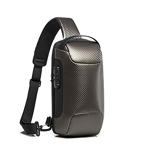 BANGE TSA Friendly Travel Large Laptop Backpack with USB Charging Port