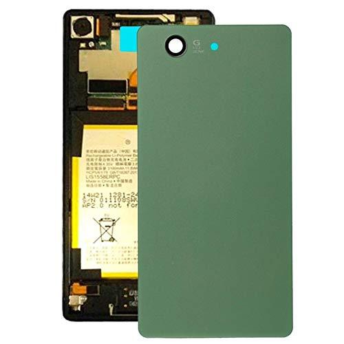 Handy-Zubehör MMGZ Batterie rückseitige Abdeckung for Sony Xperia Z3 Compact / D5803 (schwarz) Im Jahr 2020 (Color : Green)