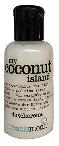 treaclemoon Duschcreme 60ml Reisegröße Duschgel - coconut vanilla ginger raspberry blueberry ice bon bon apple pie coffee grapefruit melon (coconut island)