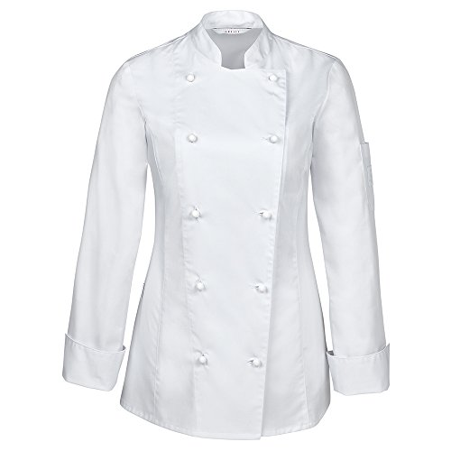 GREIFF Damen Kochjacke   Regular Fit   Cuisine Premium   Style 5407   Weiss   Gr: S