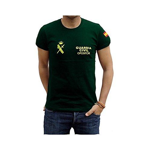 Piel Cabrera Camiseta Guardia Civil Opositor