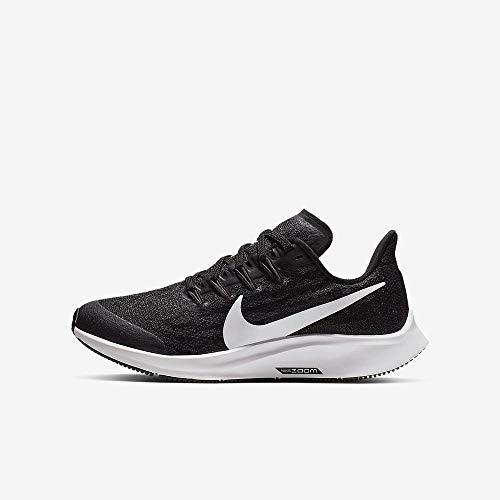Nike Air Zoom Pegasus 36 (GS), Zapatillas Unisex Niños, Negro...