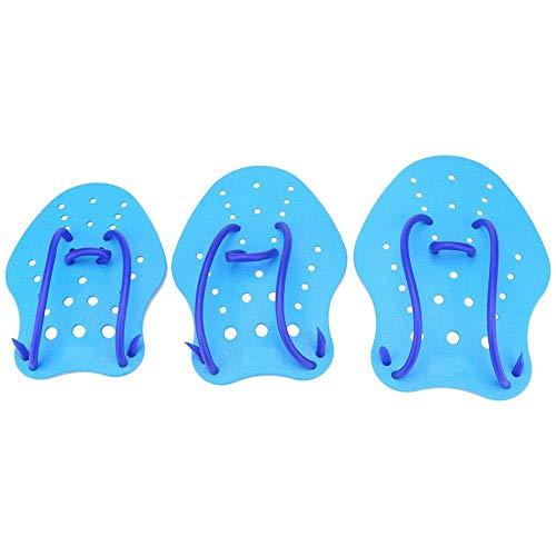 DEWIN Handpaddel - Verstellbare Paddelflosse für Schwimmtraining 1 Paar 3 Größen (Größe : S)