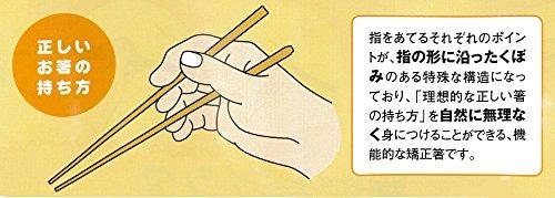 『イシダ 子供用矯正箸 三点支持箸 右利き用 14cm』の6枚目の画像