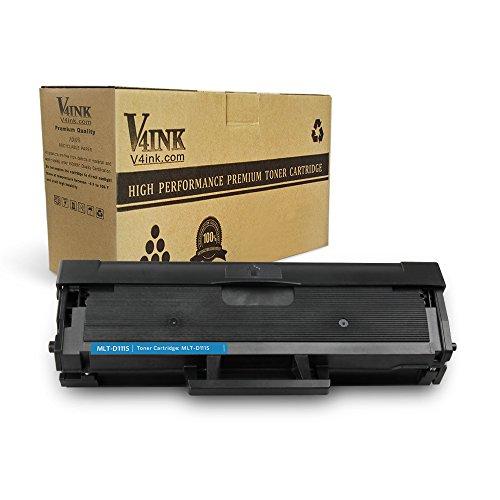 V4INK 1 Pack Compatible Samsung MLT-D111S Toner Cartridge for Xpress SL-M2020 Xpress SL-M2020W Xpress SL-2070W Xpress SL-2070FW Printers