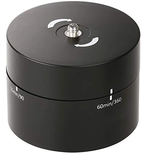 Movo Foto MTP1000 Panorama 360 °/60-Minute Zeitraffer Stativkopf für Kameras, DSLR 's, GoPro 's und Smartphones (unterstützt bis zu 2 kg)