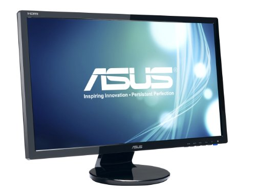 ASUS VE248H 24' Full HD 1920x1080 2Ms HDMI DVI VGA Back-Lit LED...