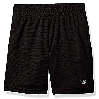 New Balance Boys' Big Athletic Short, Black, 14/16