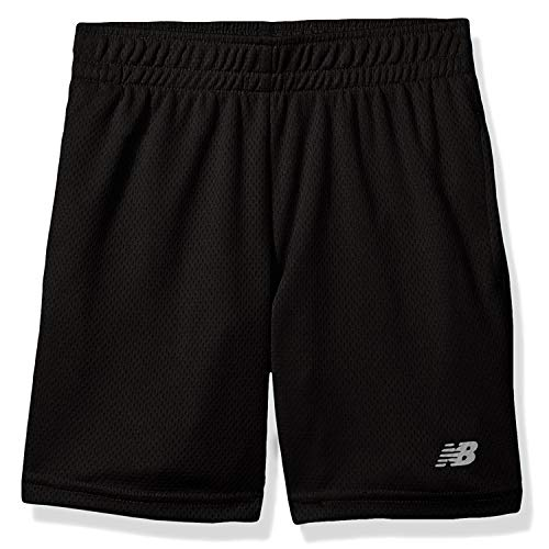 New Balance Boys' Little Athletic Short, Black, 6