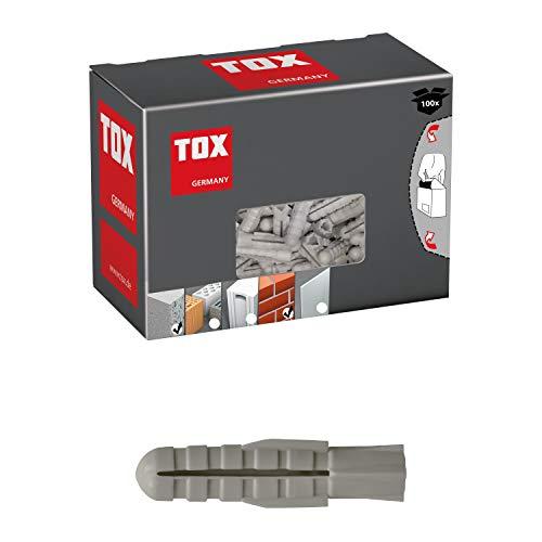 TOX Spreizdübel Fuge 4 x 20 mm, 100 Stück, 007100011