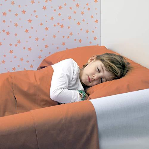 BANBALOO- Barrera de Seguridad hinchable para cama infantil, Protector Anticaídas para niños,Barandilla inflable transportable de viaje para camas de matrimonio, abatibles 90, 150, 180cm y Montessori. 🔥