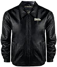 Coastal Carolina Black Leather Bomber Jacket 'Coastal Carolina Chanticleers'