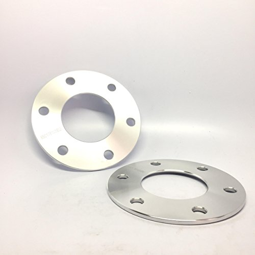 """2 Pieces 0.39"""" 10mm 3/8"""" Hub Centric Wheel Spacers Bolt Pattern 6x120 Center Bore 66.9mm Chevy Canyon 6Lug Truck Adapters"""