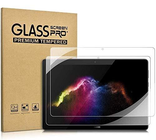 KATUMO [2-Pack] Schutzfolie Kompatibel mit Huawei Mediapad T5 10.1, 9H Festigkeitgrad, Panzerglas Bildschirmschutz Folie Für Huawei Mediapad T5 10 Zoll 2018 Tablet PC (2 X Huawei T5 10 Schutzfolie)
