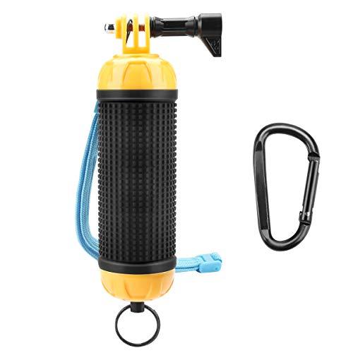 Schwimmer Handgriff Schwimmender Hand Grip Unterwasser Handstick Monopod Pole Selfie Stick Ergonomisch für GoPro Hero 7/6/5/4/3+/3/2/1