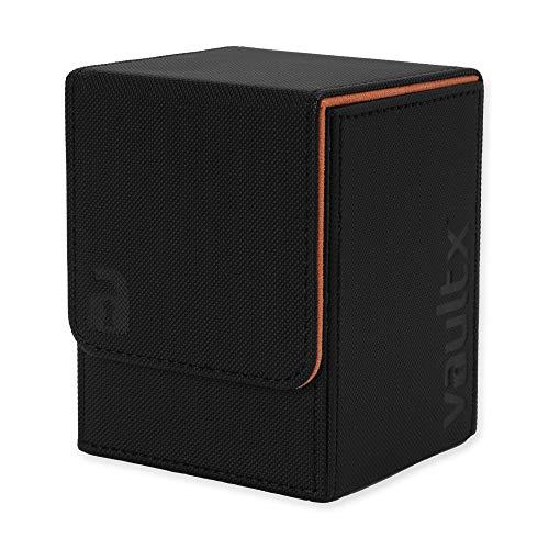 Vault X® Premium eXo-Tec® Deck Box – Taille Grand pour 100+ Cartes en Pochettes – Porte-Cartes sans PVC pour TCG