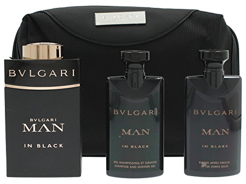 Bvlgari Man in Black Set Regalo Eau de Toilette - 100 ml, Balsamo Dopobarba - 75 ml