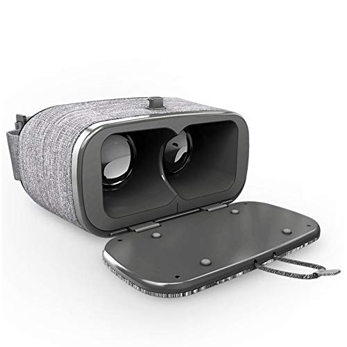LAHappy Gafas VR 3D VR Glasses con 4.5-6.0 Pulgadas para iOS y para Teléfonos Android, VR Gafas de Realidad Virtual Disfruta de los Mejores Juegos y Videos RV, 360 y 3D