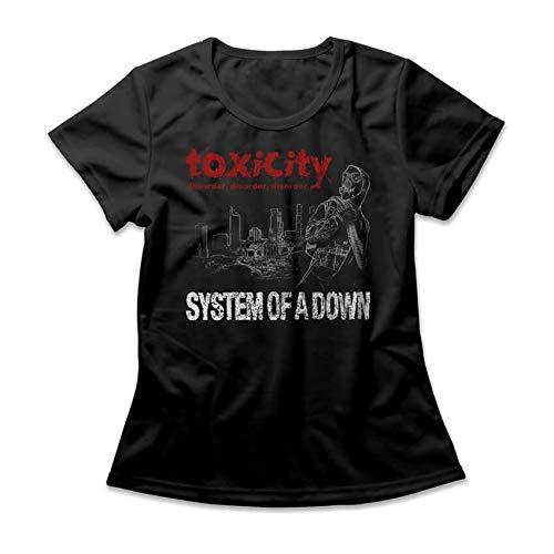 Camiseta Feminina System Of A Down Toxicity