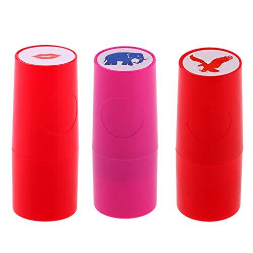 3 Unids Estampador para Bola de Golf Tenis Ping-Pong Baloncesto Fútbol Personalizado de Plástico,