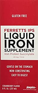Pharmics Ferretts IPS Iron Supplement, 2 Pack