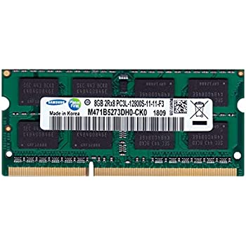 サムスン純正 PC3L-12800S(DDR3-1600) SO-DIMM 8GB メモリンゴブランドノートPC用メモリ DDR3L&mac対応モデル (電圧1.35V & 1.5V 両対応)