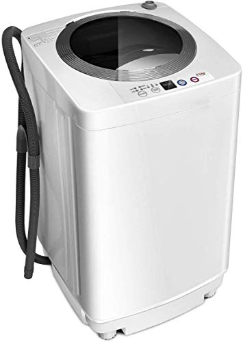 Giantex Portable Compact Full-Automatic Laundry 8 lbs Load Capacity Washing Machine Washer/Spinner...