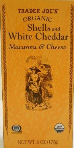 Trader Joe's Organic Shells Ranking TOP7 White Cheddar Macaroni Ranking TOP5 6o Cheese
