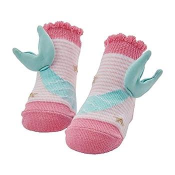 Mud Pie Baby Girls MERMAID TAIL SOCKS 0-12 Months