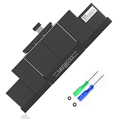 """POWERWOO A1417 Battery for MacBook Pro 15"""" A1398 Mid 2012 Early 2013 Retina, Compatible with MacBookPro 10,1 2012 2013 MacBook Pro Battery A1398 (11.26V 99WH/8800mAh)"""