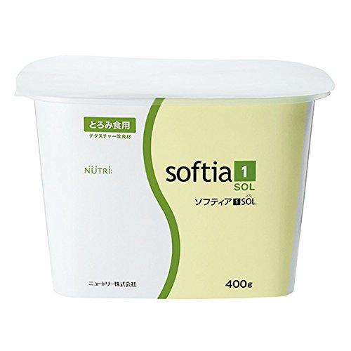 介護食 とろみ剤(とろみ調整食品) ソフティア1SOL400g袋