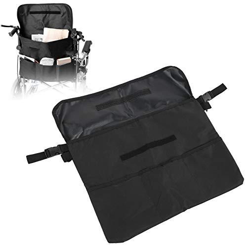 ZJchao Bolsa de almacenamiento para silla de ruedas, bolsa de almacenamiento de accesorios para silla de ruedas para llevar artículos y accesorios sueltos, organizador portátil para andador co