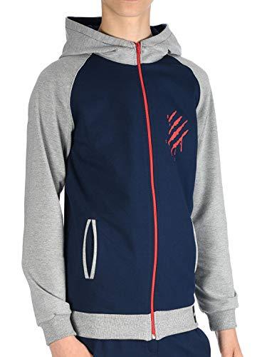 BEZLIT Jungen Kinder Hoodie Kapuzen Pullover Sweat-Shirt Sweater Sweatjacke Pulli YES 30042 Navy 122