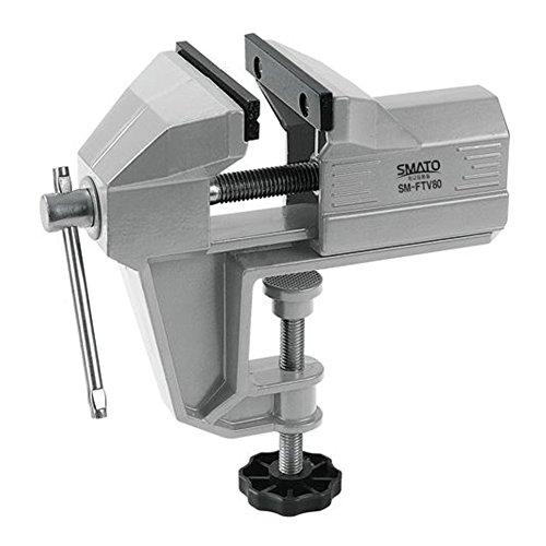 HW Aluminium Tisch Bank Schraubstock schwenkbar Lock Schreibtisch Klemme Handwerk Hobby Handwerk Repair Tool (65 mm/2,6 Zoll)