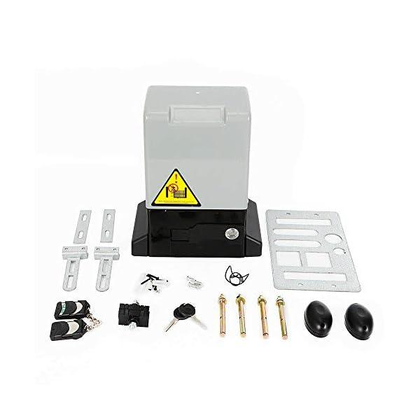 Berkalash-370W-Abrepuertas-correderas-elctricas-con-2-mandos-a-distancia-600-kg-de-aleacin-de-aluminio-apertura-automtica-de-puertas-correderas