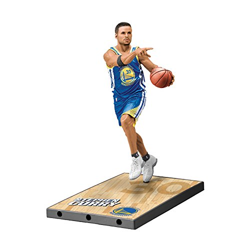 McFarlane NBA Series 32 Steph Curry Golden State Warriors Action Figur (18 cm)