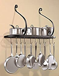Top 10 Best Selling Pot Racks Reviews 2021