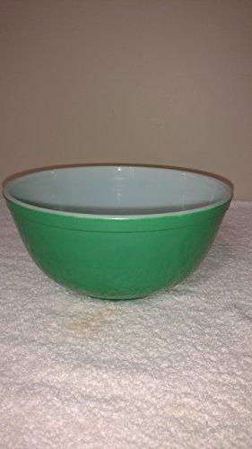 "Vintage Pyrex "" GREEN "" 2 1/2 Quart Mixing Batter Nesting Bowl"