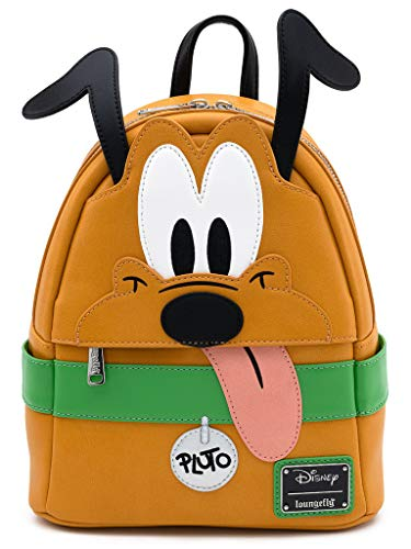 Loungefly Disney Pluto Cosplay Womens Double Strap Shoulder Bag Purse