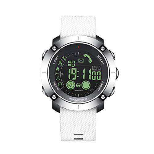 Bluetooth Polshorloge Waterdicht Smart Herenhorloge Sport Stappenteller Stopwatch Oproepberichtwaarschuwing Smartwatch