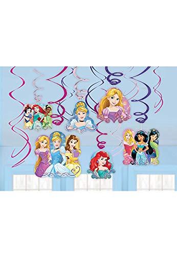 Disney Princess Dream Big Value Pack Swirl Decorations