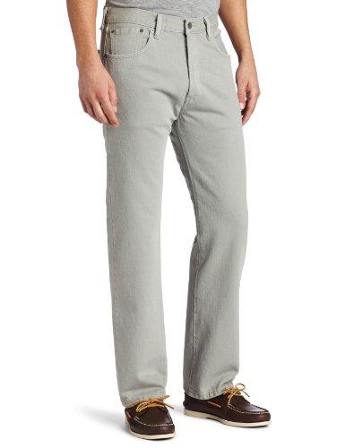 Levi's 501 Original Fit Jeans, Grigio Neutro Interrotto, 32W / 34L Uomo
