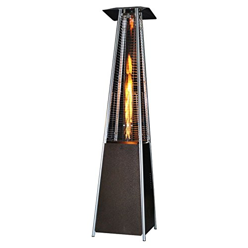 Great Features Of SUNHEAT Contemporary Square Glass Tube Propane Patio Heater