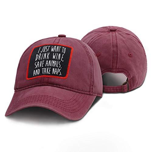CDNY Sombrero Casual con Estampado de Letras Simples Sombrero Hip-Hop de Verano para Hombres Gorra de béisbol Ester Streetwear 52-62cm Ajustable
